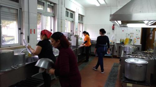 Na cozinha