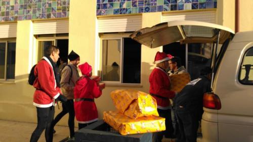 Transporte prendas para a Serra da Luz